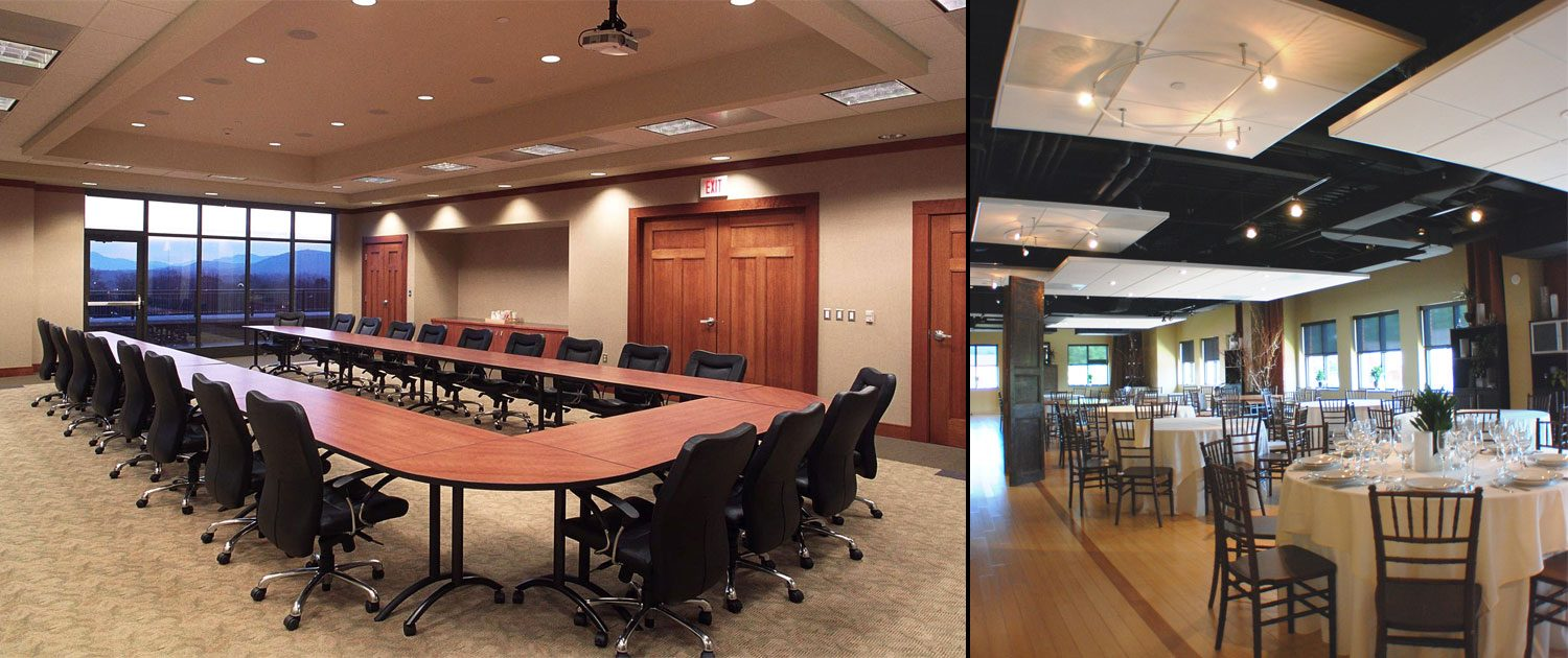 Chamber of Commerce - boardroom and dining room