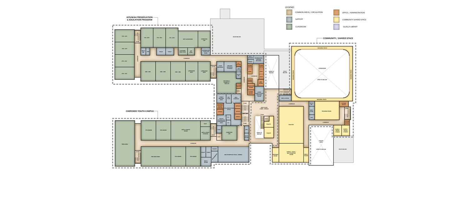 4_Youth-Center floorplan