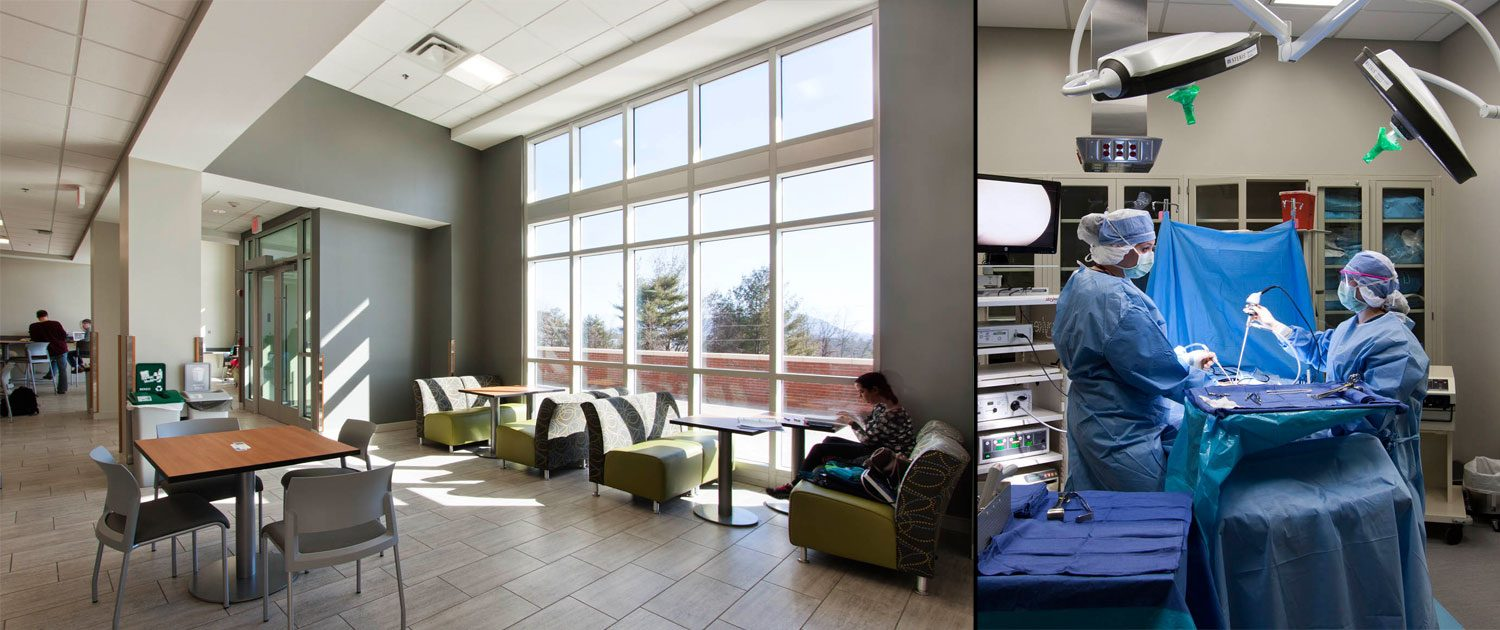 AB Tech Interior - study hall and operating room